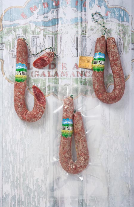 Salchichón Herradura Extra Pieza y Pieza Vacio